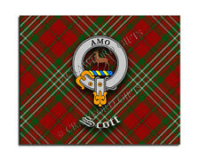 Scott Clan Mouse Pad - Scottish Design Mat - High Quality - Tartan