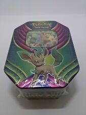 Pokemon TCG: Evolution Celebration Tin - Leafeon GX - NEW & FACTORY SEALED!