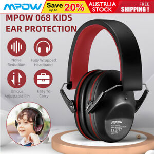Mpow 068 Kids Toddler Ear Protection Earmuffs NRR 25dB Noise Reduction Ear Muffs