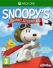 Peanuts Movie Snoopy's Grand Adventure Game for Xbox One 3 Kids