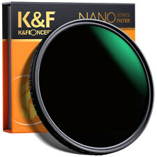 K&F Concept Variable Nano Slim 67mm ND Objektiv Filter ND8~ND128 Neutral Dichte