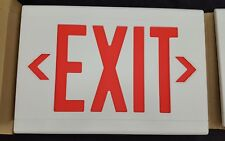 LED Exit Sign Emergency Light / Dual-Lite Hubbell Lifeforms