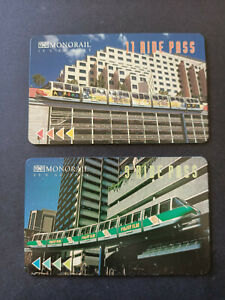 2nd Issue TNT Sydney Monorail Multi Ride Pass Pair