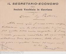A149-IL SEGRATARIO ECONOMO DELLA SOCIETA' VECCHIA IN CAVRIANA
