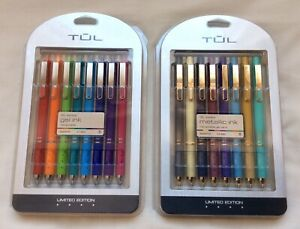 TUL GL Series GEL & METALLIC Ink Pens, Limited Edition ( set of 2 )