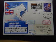 Cover Nepal British Nepalese Army Annapura RAF Miristi Khola Pokhara 1970