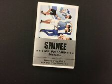 Kpop Shinee Photo Message Cards K pop High Quality Mini Post Card 56 Sheets