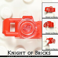 LEGO Minifigure RED Camera Telephoto Small Lens City Town Train Tourist Tool