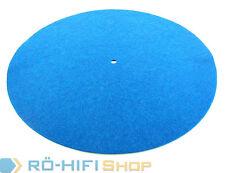 Pro-Ject Filzmatte Plattenteller Auflage Pro-Ject Debut Carbon etc. blau | NEU
