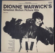 DIONNE WARWICK - GREATEST MOTION PICTURE HITS 1969 SCEPTER RECORDS SPS 575 US LP