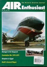 AIR ENTHUSIAST AEQ 69 EGYPT DH VAMPIRE / VICKERS VANGUARD / WW1 CANADIAN RNAS