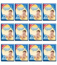 216 Pannolini HUGGIES UNISTAR Pannolini Bambini misura quinta 11-19 kg NUOVI