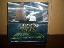 1994 uk seller STAR WARS Topps Widevision Uncut Promo Card