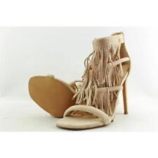 35 Sandali e scarpe con tacco alto (8-11 cm) in camoscio per il mare da donna
