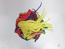 """ALEX ANGI, Serigrafia su PVC neutro, tratta da """"Ama la natura"""""""