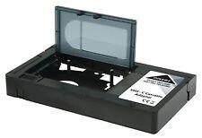 VHS-C a VHS VIDEOCASSETTA CASSETTA Registratore Lettore CONVERTITORE ADATTATORE CAMCODER