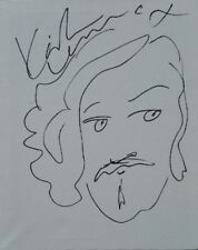 """Keith Lemon 8"""" x 10"""" hand drawn sketch on canvas and hand signed in person."""
