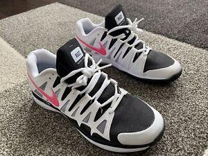 Nike Mens Zoom Vapor 9 Tour Tennis Shoes Roger Federer size 8.5