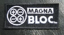 MAGNA BLOC EMBROIDERED SEW ON PATCH UNIFORM