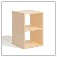 BBox2 Half-Sized Stacking Shelf in Birch, by Offi & Co.