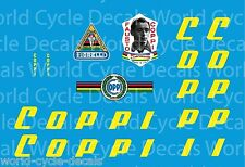 Coppi Bicycle Decals-Transfers-Stickers #10