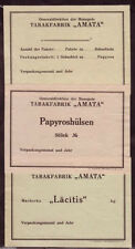 Latvia Tobacco package label