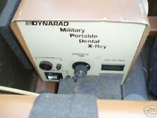 Portable dental x-ray machines Military Dynarad company