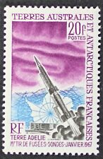 Z375 FSAT TAAF Fr. Southern Antarctic 1967 #29 Aurora Australis Mint NH