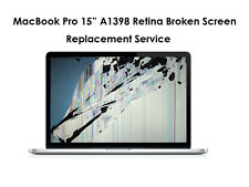 "MacBook Pro 15"" A1398 Retina Broken GLOSSY RETINA SCREEN Replacement Service"