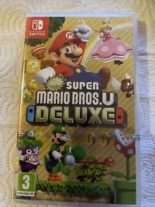 New Super Mario Bros. U Deluxe - Nintendo Switch comme NEUF