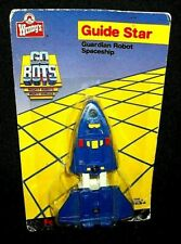 VTG Rare GOBOTS Wendy's GUIDE STAR Space Shuttle Ship Toy Action Figure Lot MIP