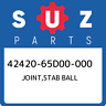 42420-65D00-000 Suzuki Joint,stab ball 4242065D00000, New Genuine OEM Part