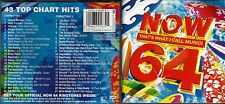 Now That's What I Call Music 64, 2Cd, 43 songs, excellent