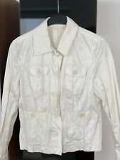 C&A Yessica Weiß Sommer Damen Jacke 🧥 Größe 38 Neu