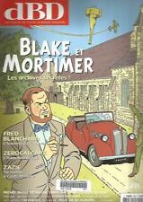 dBD N°128 BLAKE ET MORTIMER / F. BLANCHARD / ZEROCALCARE / MICHEL BUSSI / TARDI