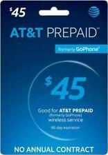 AT&T Prepaid Refill Card