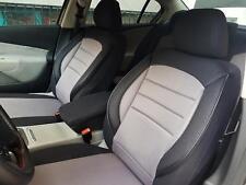 Sitzbezüge Schonbezüge für Mazda 323 schwarz-grau V759024 Vordersitze