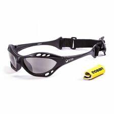 Ocean Glasses Sunglasses Cumbuco Matte Black frames w/polarized smoke lens New
