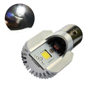 2Pcs 9-80V BA20D Led 12W COB Bulb 900Lm Fog Light Auto Motorcycle Headlight Lamp
