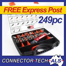Genuine Deutsch DT Connector Plug Kit 249pc Crimp Tool Automotive #DT-KIT3-TR