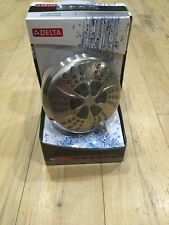 Delta 75661DSN Spot Shield Shower Head Fixed 6 Spray Settings Brushed Nickel