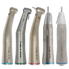 Dental Fibre Optic Straight Contra Angle Low Speed Handpiece 1115 Ti Max Type