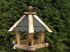 Mangeoire Nichoir 6-eckig Villa / à Oiseaux à Nr.17 avec Bitume