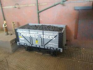 """Skytrex 7mm O Gauge 8 plank RCH wagon """"Phorpres Bricks"""""""