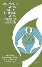 NEW Women's Rights and Human Rights: International Historical Perspectives