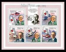 Guine Bi. 2009 MNH SS, John Flynn,  Red Cross, World's 1st Air Ambulance, Royal