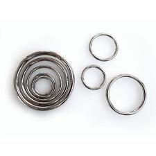 Stahlringe 0,25 €/St.+ 20-50 mm verzinkt viele Größen Metallring Eisenring