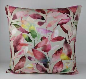 VOYAGE DECORATION BRYMPTON FABRIC Cushion Cover Radpberry