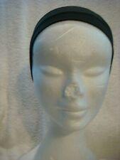 Stretch  head band/ bandeau  in black 5cms wide