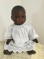 "SWEET LITTLE 12"" ARMAND MARSEILLE BLACK BABY DOLL MOLD 341."